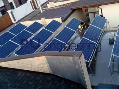 Строительство солнечной электростанции 30 кВт.