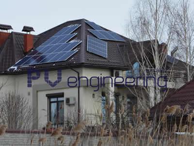Строительство солнечной электростанции 15 кВт.